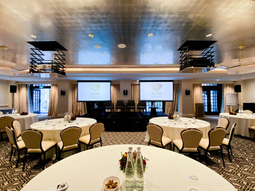 Conference Management for Edmond de Rothschild at East India Room by Compass Events